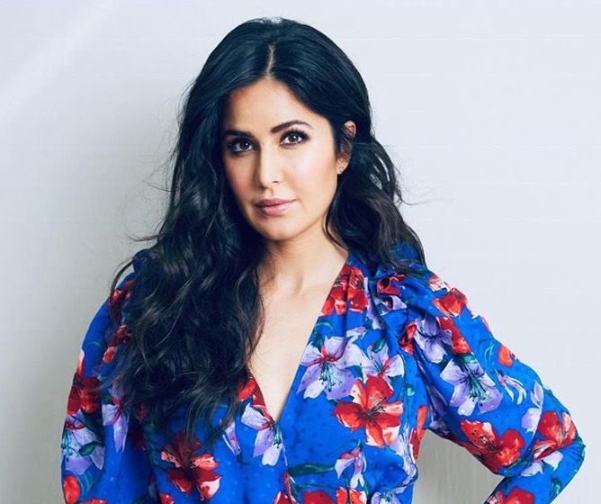 Katrina Kaif in blue dress