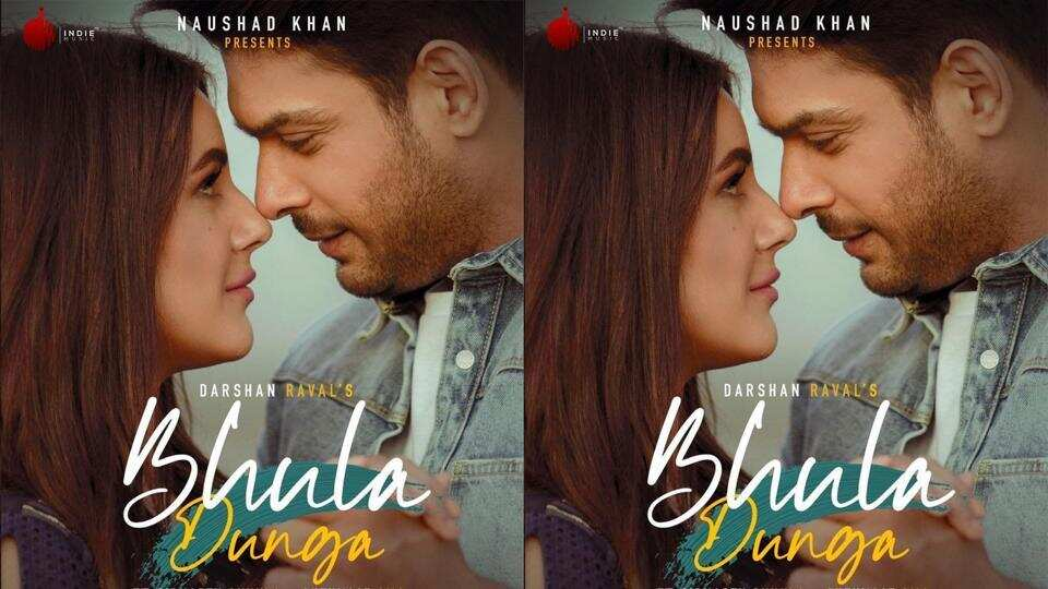 first look of Sidharth Shukla and Shehnaaz Gill from the song bhula dunga