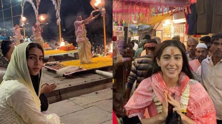 Sara Ali Khan in Varanasi